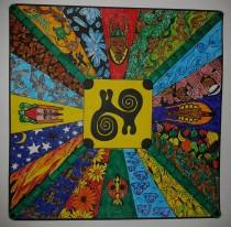 African Mandala Owusu/Geurtsen